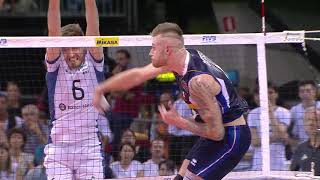 Ivan Zaytsev vs De Cecco | Italia - Argentina 3-1, Firenze 15.09.2018