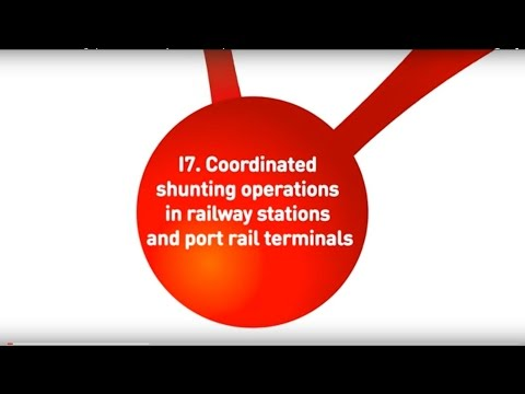 Coordinated shunting operations in railway stations and port rail terminals - B2MoS