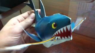 Papercraft SHARKS San Jose Hockey Mascot
