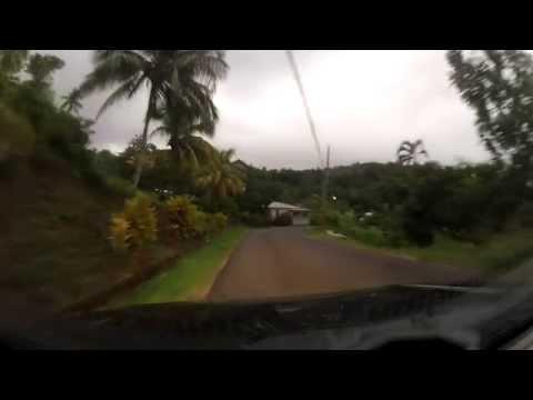 Suzuki Jimny Castle Bruce to Pegua - Dominica
