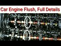 Car engine oil flush with all details