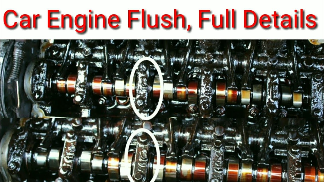Car Engine Oil Flush With All Details Youtube