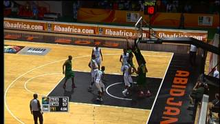 #AfroBasket - Day 6: Nigeria v Cameroon (highlights)