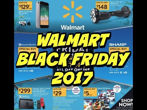 WALMART BLACK FRIDAY 2017 | FULL AD 36 PAGES | HOT DEALS!