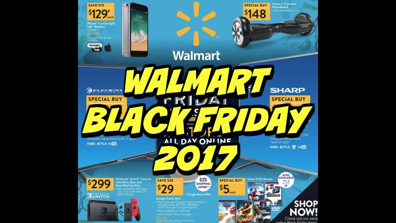 All the Best Black Friday Deals at Walmart