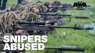 ARMA 3 RHS KOTH: Trolling Snipers