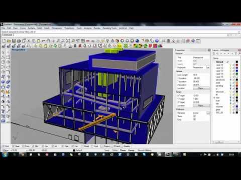 Advanced BIM techniques in Rhino 3d: Section
