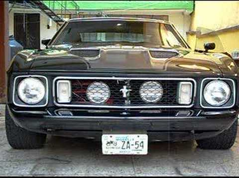 Poderoso Mustang Mach One 1973  YouTube