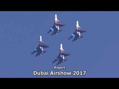 Report: Dubai Airshow 2017 (full HD)