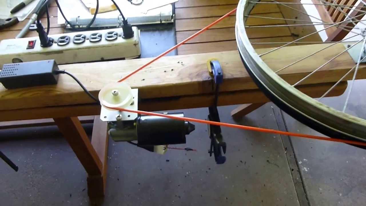 Wiper Motor Running Axworthy Wheel Test