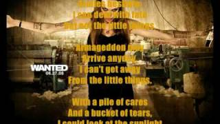 Danny Elfman - The Little Things with Lyrics (wanted OST)