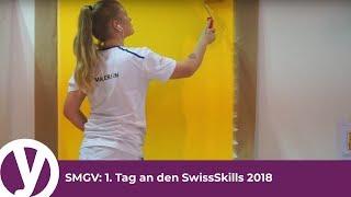 SMGV: 1. Tag an den SwissSkills 2018