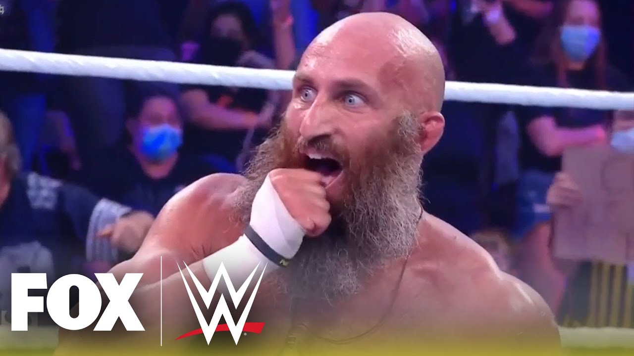 Ciampa, Dunne, Wagner and Knight clash in NXT Title Match | NXT |WWE ON FOX