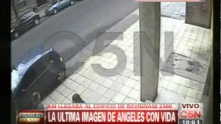 C5N - CRIMEN DE ANGELES RAWSON: LA ULTIMA IMAGEN DE LA JOVEN