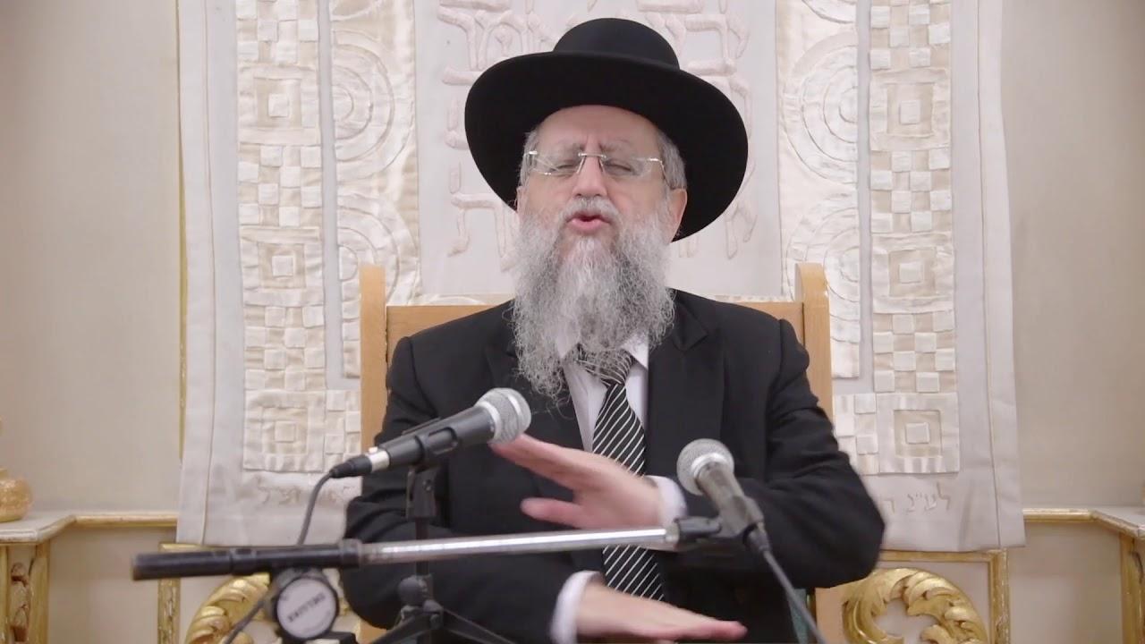 הרב דוד יוסף בעל הלכה ברורה שיעור הלכות קידוש בבית מדרש יחוה דעת