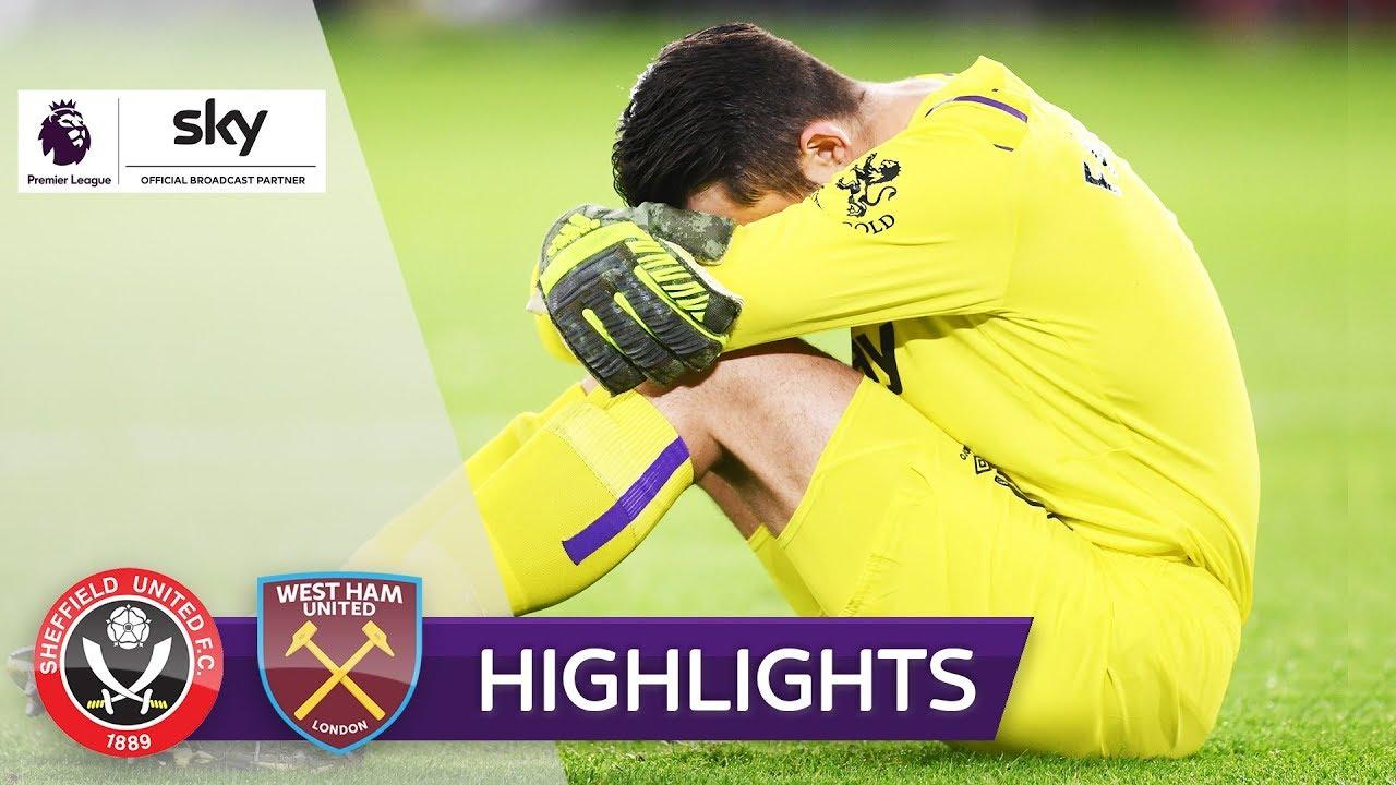 Шеффилд Юнайтед  1-0  Вест Хэм видео