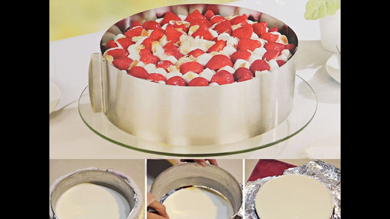 Форма для выпечки торта и кекса - YouTube