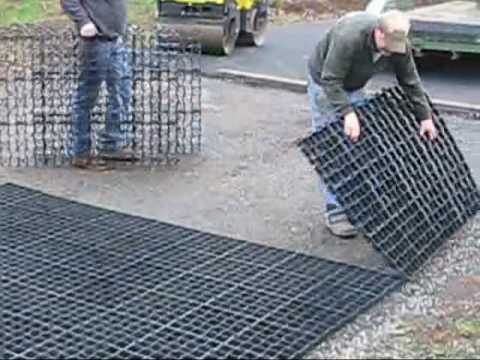 Ecoraster In M Oregon Porous Driveway Construction Step By And Installation