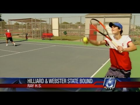 Carl Hilliard  & George Webster : Ray High School Doubles