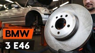 Remschijven achter en vóór monteren BMW 3 Touring (E46): gratis video