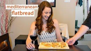 Date Night Cook: Mediterranean Flatbread