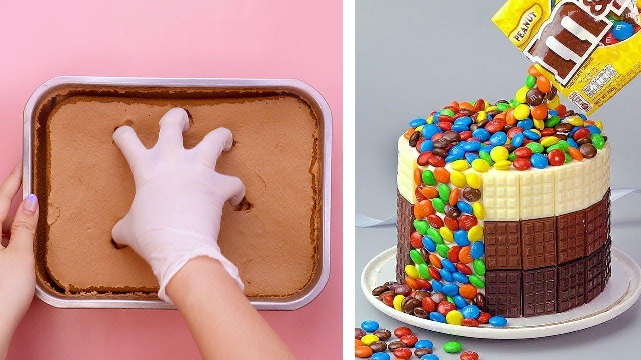 Easy Homemade Chocolate Cake Hacks Recipes | So Yummy Cake Decorating Ideas | So Tasty