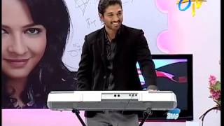 Allu arjun plays he is Favourite song...