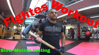 👊Fighters 💪Workout SLOW-MOTION