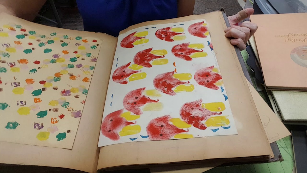 Watercolor books for sale - Really Cool Vintage Scrap Books For Sale