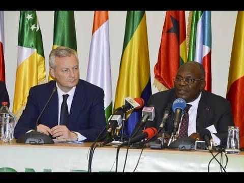 Réunion des Ministres en charge des finances des pays membres de la zone Franc à Brazzaville