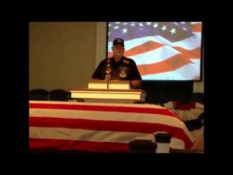 Funeral Services For Chief Master Sgt. Edwin E. Morgan, US Air Force
