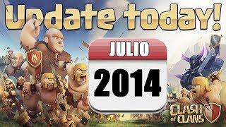 Novedades de la actualización de julio 2014 | Descubriendo Clash of Clans #302 [Español]