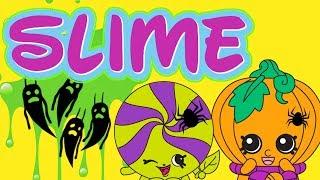 Shopkins • Slime Neonowe • Jak zrobić gluta?