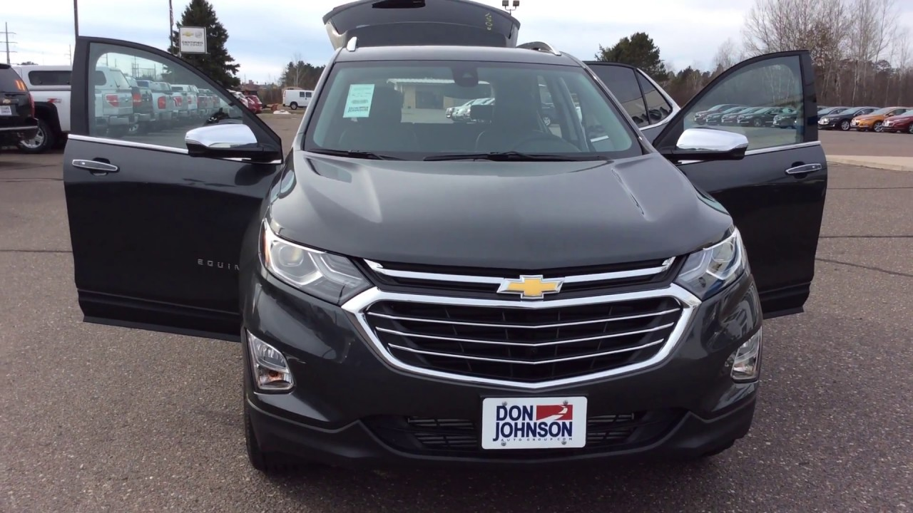 2018 chevrolet equinox awd premier 1lz nightfall gray for Don johnson hayward motors