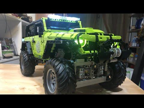 Jeep Wrangler Vorstellung Rael,Super18K  Set Nr: LE-J902( Teil 1!Mit Tipps und Tricks