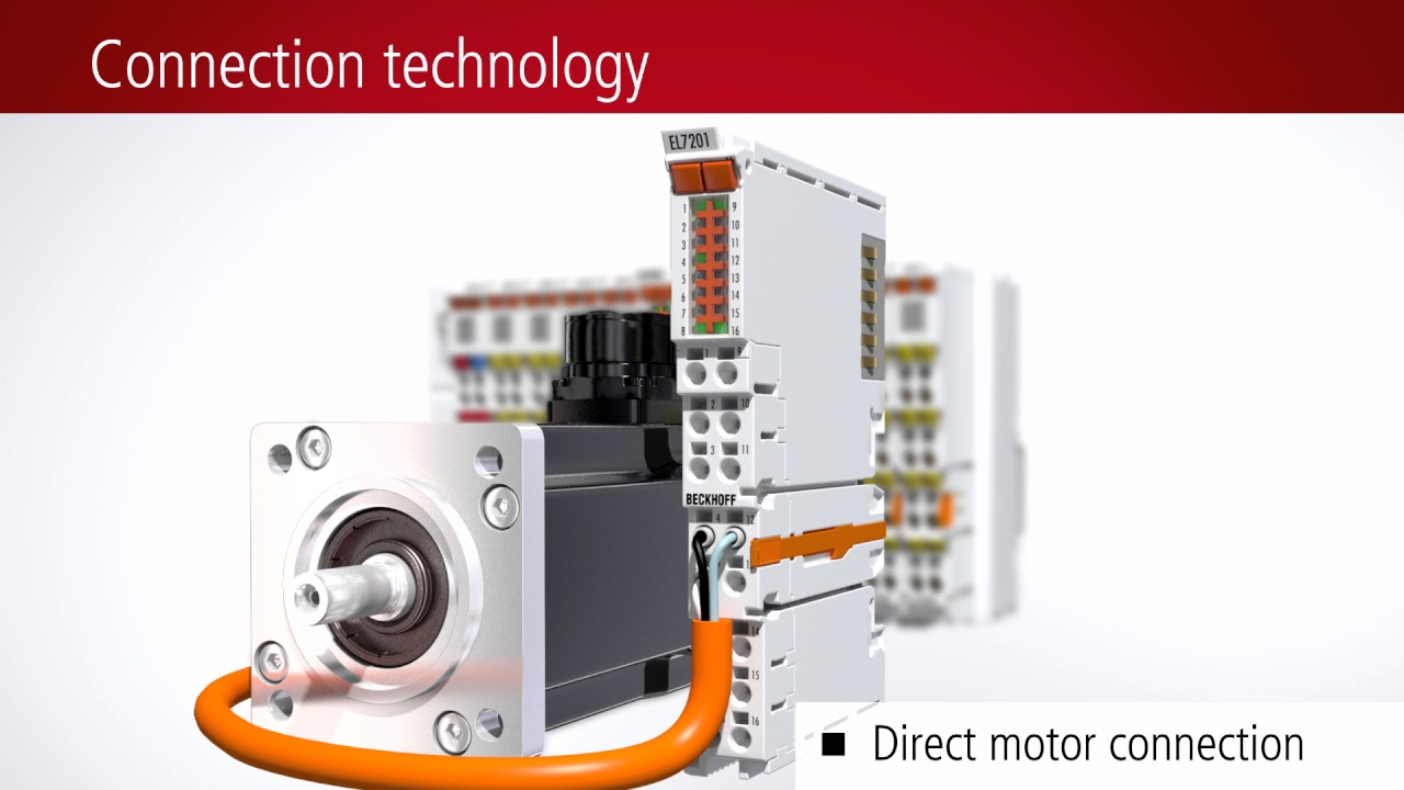 Complete servo drive in a compact EtherCAT Terminal