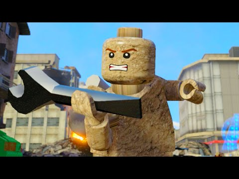 Lego Marvels Avengers All Absorbing Man Abilities & How to Unlock