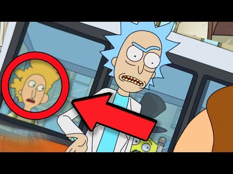 Rick and Morty - 50 Jokes & References You Missed