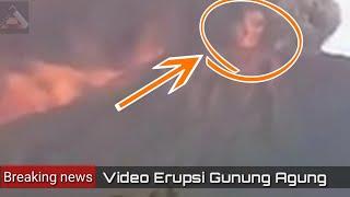 Video Erupsi Gunung Agung 26 November 2017 terkini