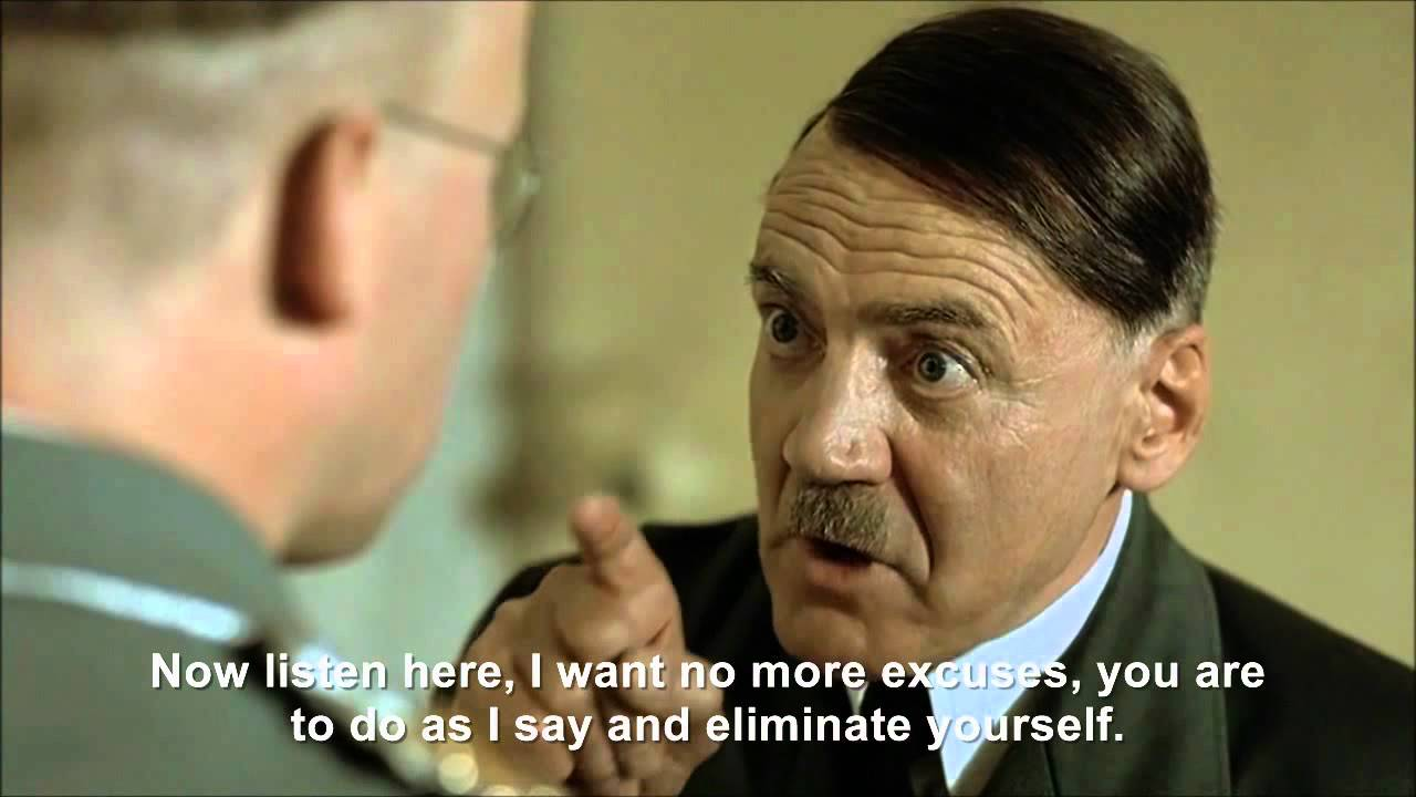 Hitler wants Himmler to eliminate himself