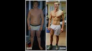 Body Transformation - From Fat To Ripped