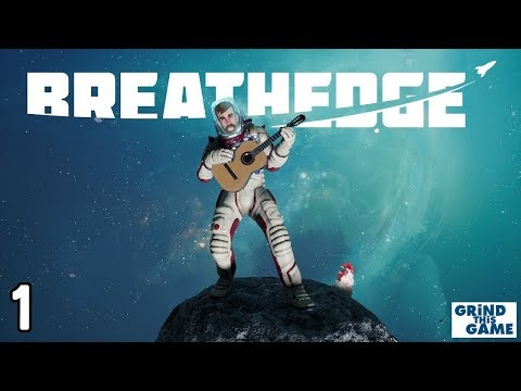 Let's Play BREATHEDGE #1 - Funny Space Survival Game - 동영상