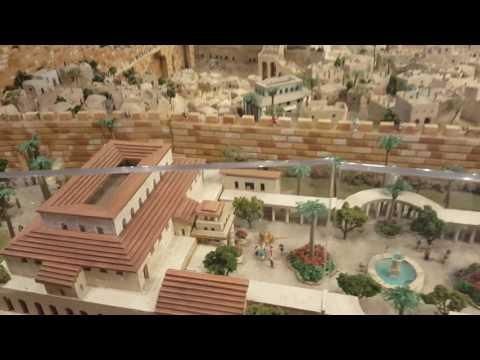 Maqueta De Israel En Tiempos De Jesús