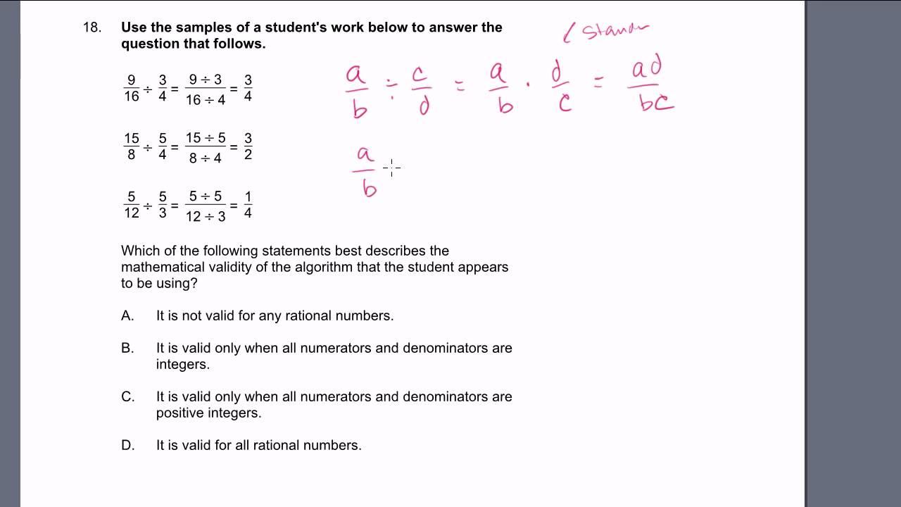 MTEL Math Practice Test: 16-19