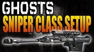 Ghosts Killer Class Setups: Beastly ACOG Sniper! (Call of Duty Ghost Best Multiplayer Classes)