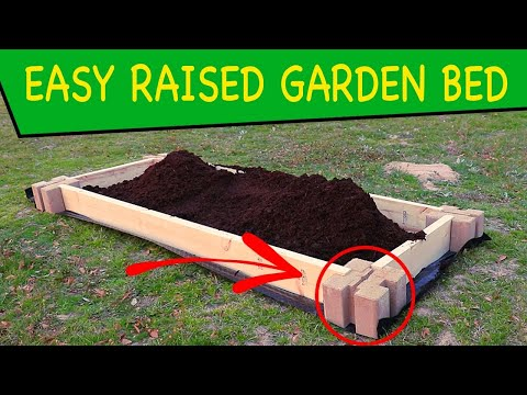 How to Build a Planter Box or Raised Garden Bed the Easiest Way Ever!