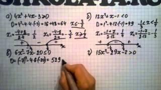 Алгебра 9 кл. Мордкович. Параграф 1.6.