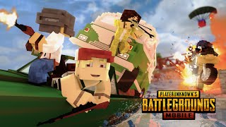 Gambar cover PUBG MOBILE Original Animation   TOP 10 FUNNY MOMENTS - Minecraft Animation