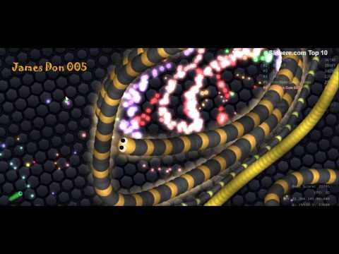 SLITHER IO Ulo Weling - Game Play Slither io 29 Maret 2017