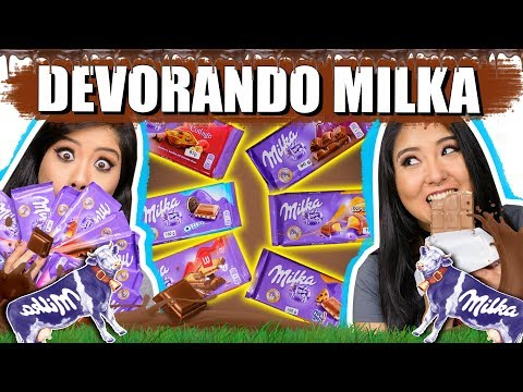 DEVORANDO CHOCOLATES MILKA | Blog das irmãs